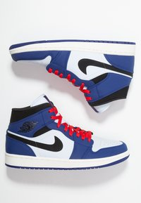 Jordan - AIR 1 MID SE - Höga sneakers - deep royal blue/black/half blue/universal red - 1
