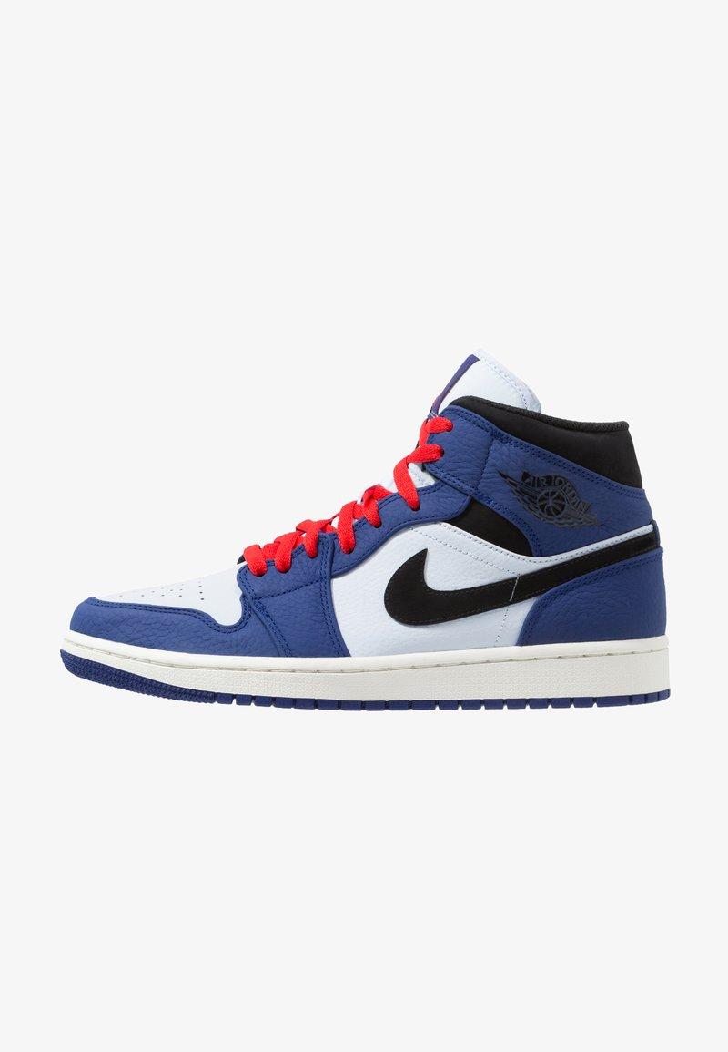 Jordan - AIR 1 MID SE - Höga sneakers - deep royal blue/black/half blue/universal red
