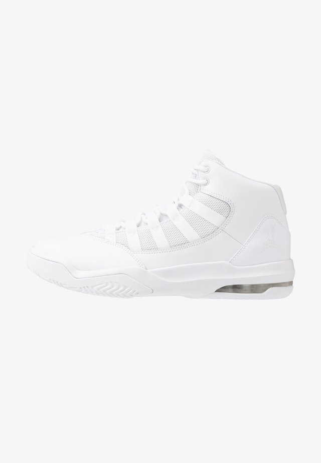 MAX AURA - Baskets montantes - white/black