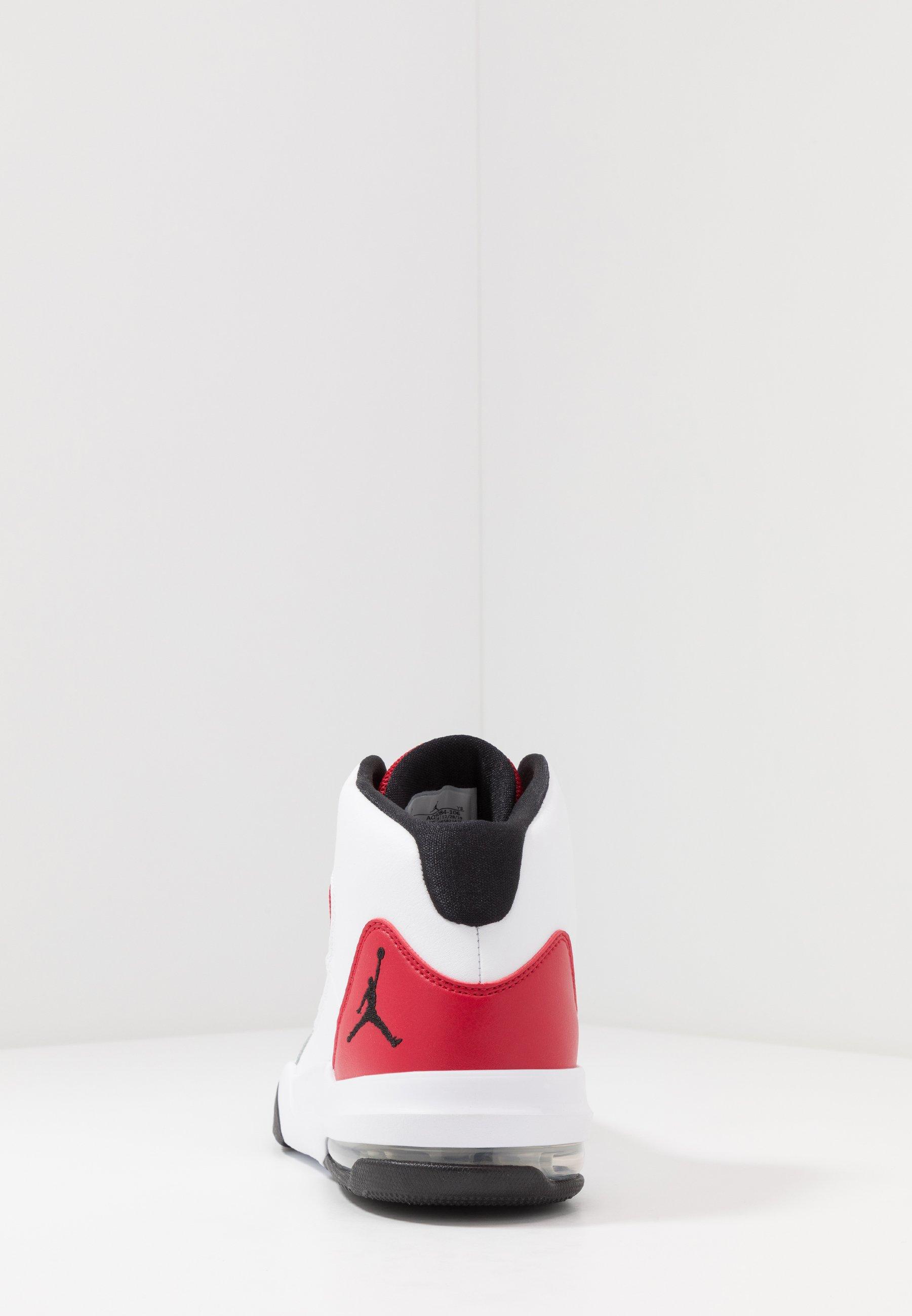 Jordan Max Aura - High-top Trainers White/black/gym Red