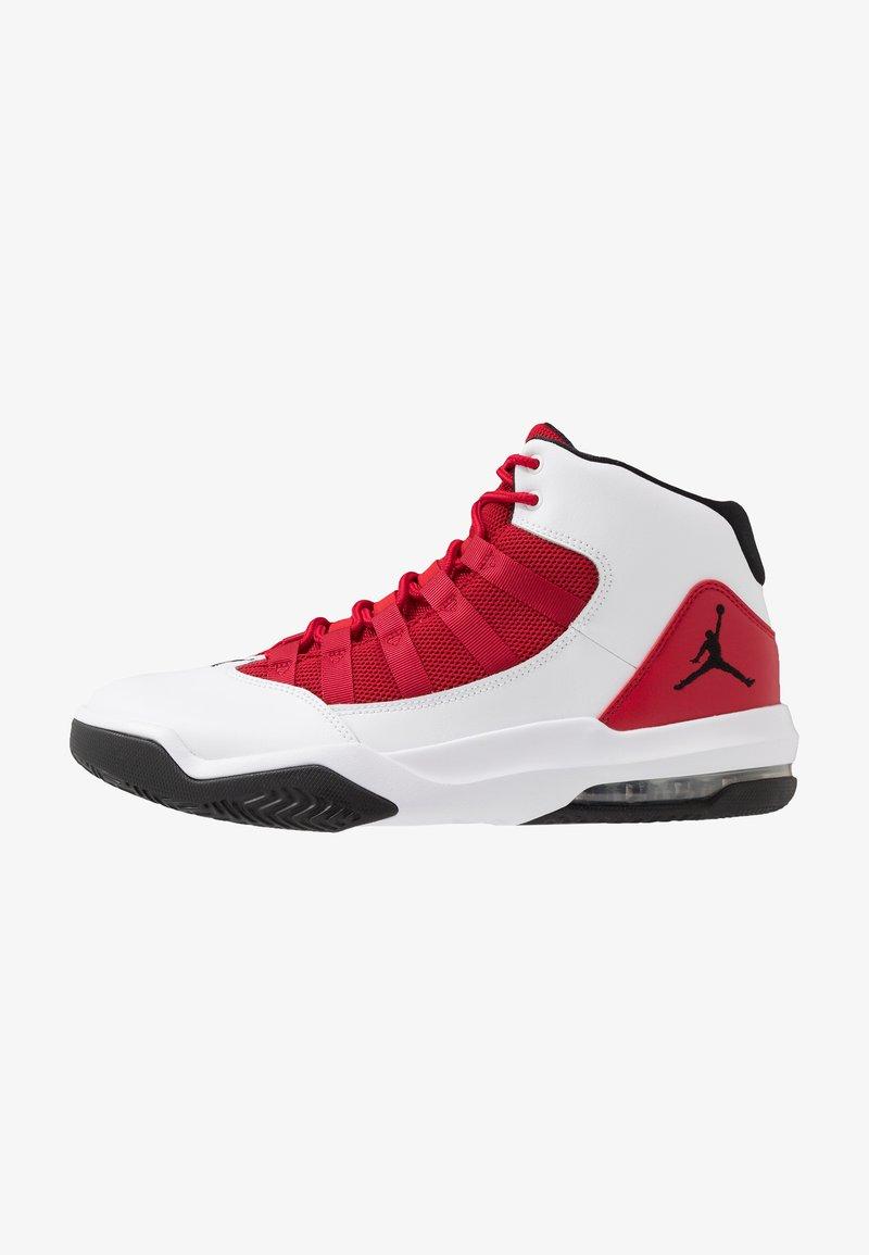 Jordan - MAX AURA - High-top trainers - white/black/gym red
