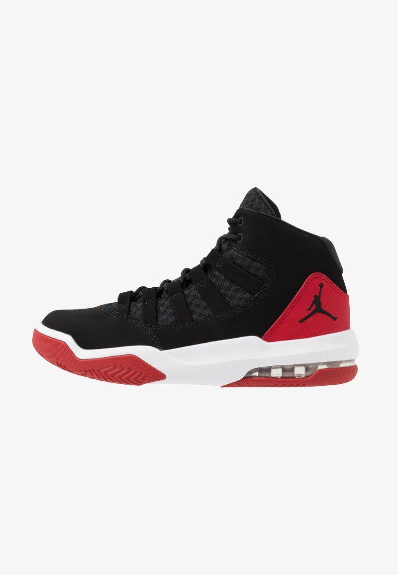 Jordan - MAX AURA - Höga sneakers - black/gym red