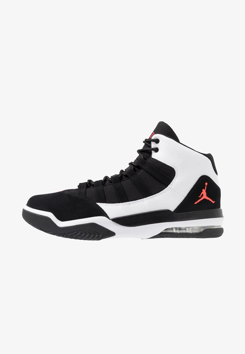 Jordan - MAX AURA - High-top trainers - white/infrared/black