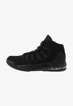 MAX AURA - Höga sneakers - black