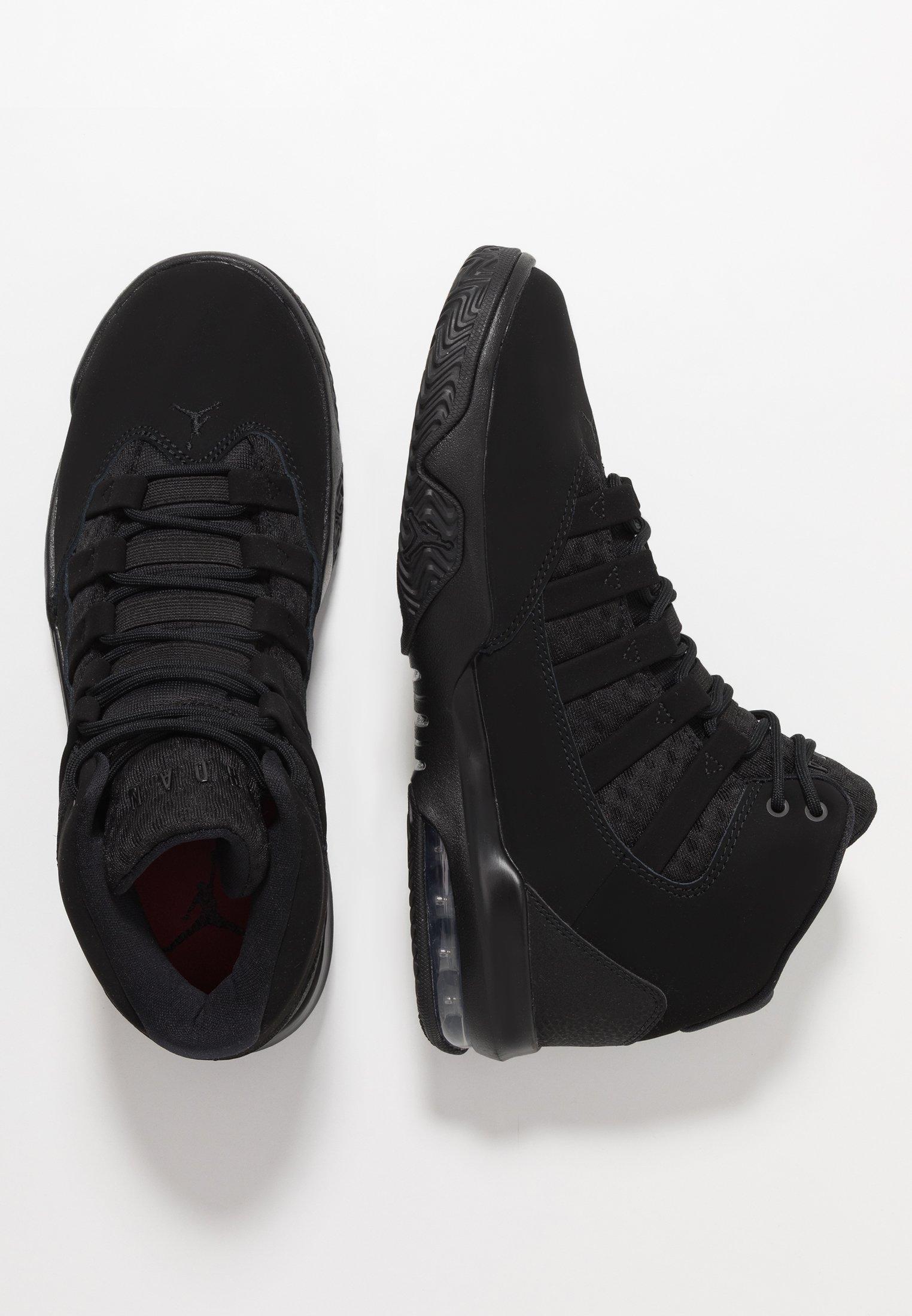 MAX AURA Höga sneakers black