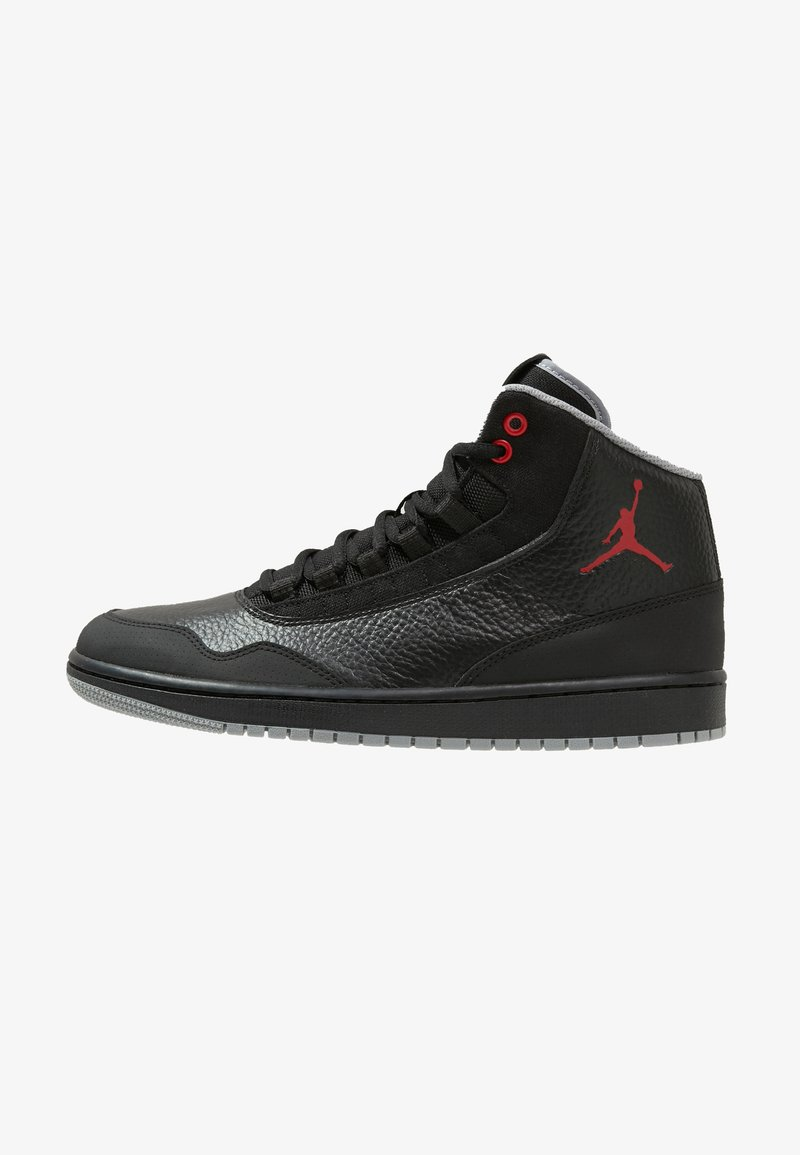 Jordan - EXECUTIVE - High-top trainers - black/gym red/particle grey