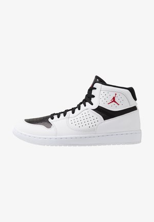 JORDAN ACCESS HERRENSCHUH - Korkeavartiset tennarit - white/gym red/black