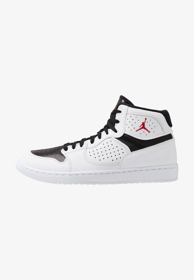 JORDAN ACCESS HERRENSCHUH - Baskets montantes - white/gym red/black