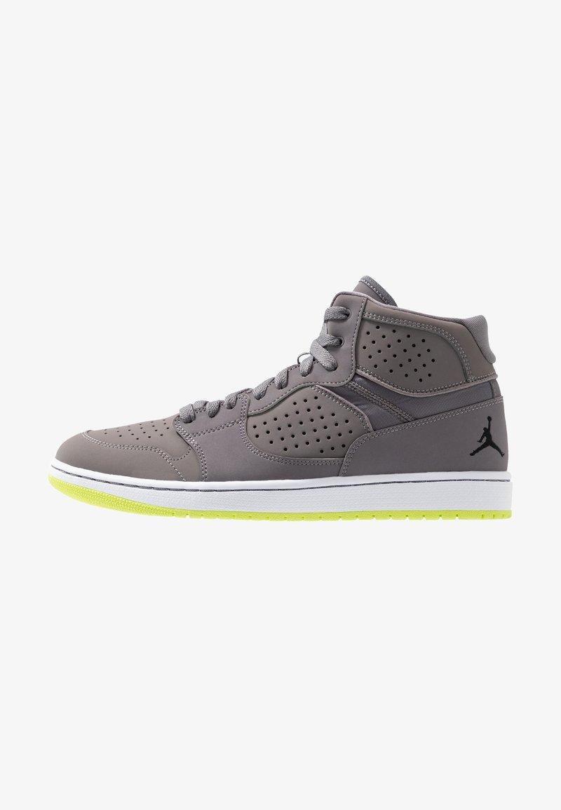 Jordan - ACCESS - Höga sneakers - gunsmoke/black/volt/white