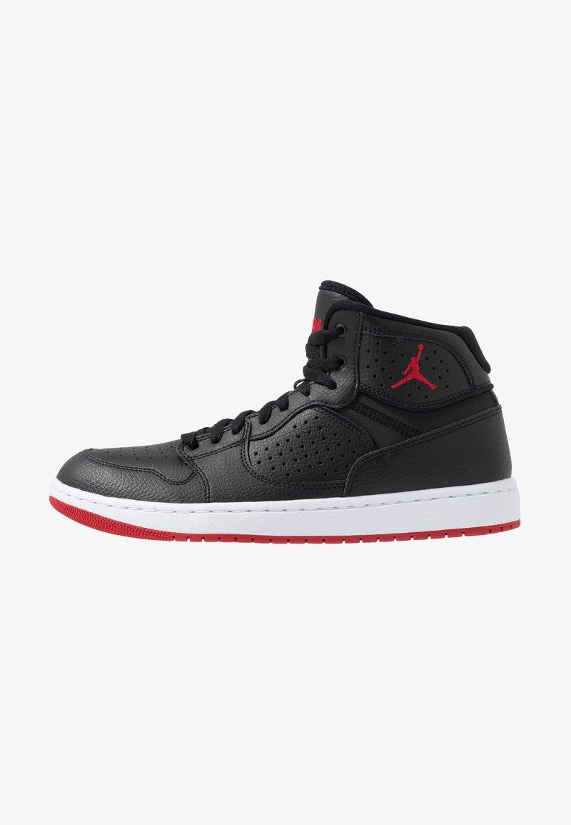 Jordan - ACCESS - Höga sneakers - black/red/white