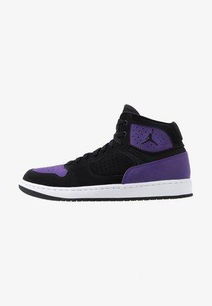 JORDAN ACCESS HERRENSCHUH - High-top trainers - black/purple