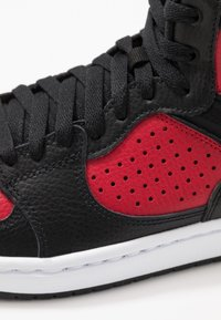Jordan - ACCESS - High-top trainers - black/gym red/white - 5