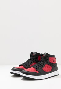 Jordan - ACCESS - High-top trainers - black/gym red/white - 2