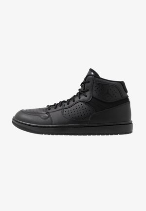 JORDAN ACCESS HERRENSCHUH - Korkeavartiset tennarit - black