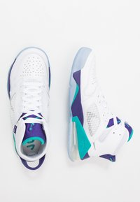 Jordan - MARS 270 - High-top trainers - white/reflect silver/new emerald/grape ice - 1