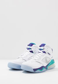 Jordan - MARS 270 - High-top trainers - white/reflect silver/new emerald/grape ice - 2