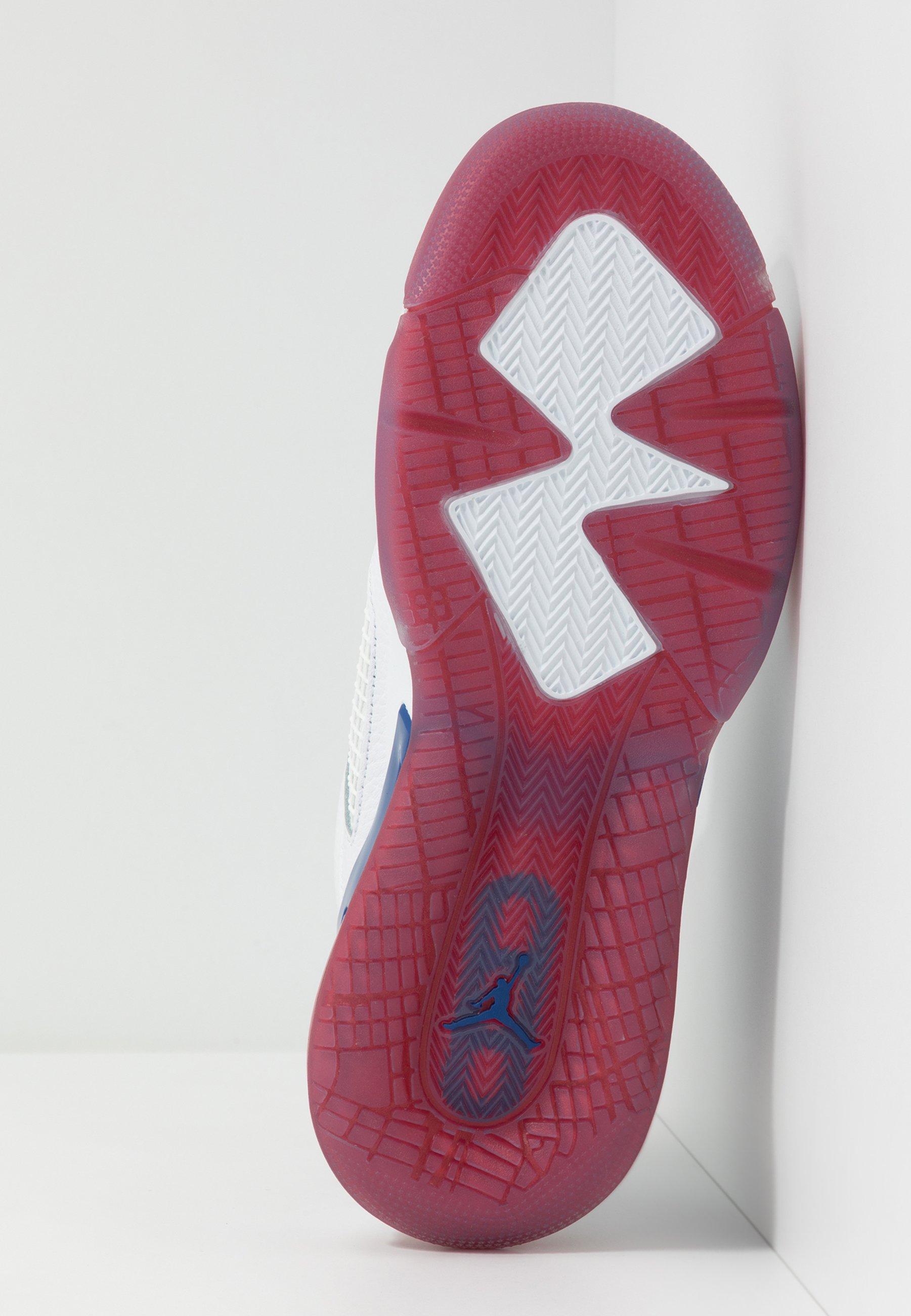 Jordan Mars 270 - Baskets Montantes White/black/university Red/rush Blue evqUkZ6
