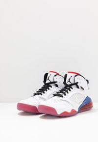 Jordan - MARS 270 - High-top trainers - white/black/university red/rush blue - 2