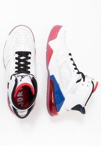 Jordan - MARS 270 - High-top trainers - white/black/university red/rush blue - 1
