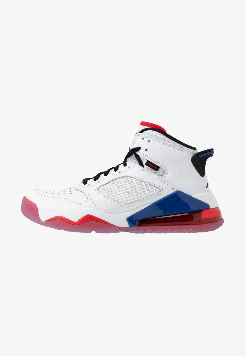 Jordan - MARS 270 - High-top trainers - white/black/university red/rush blue