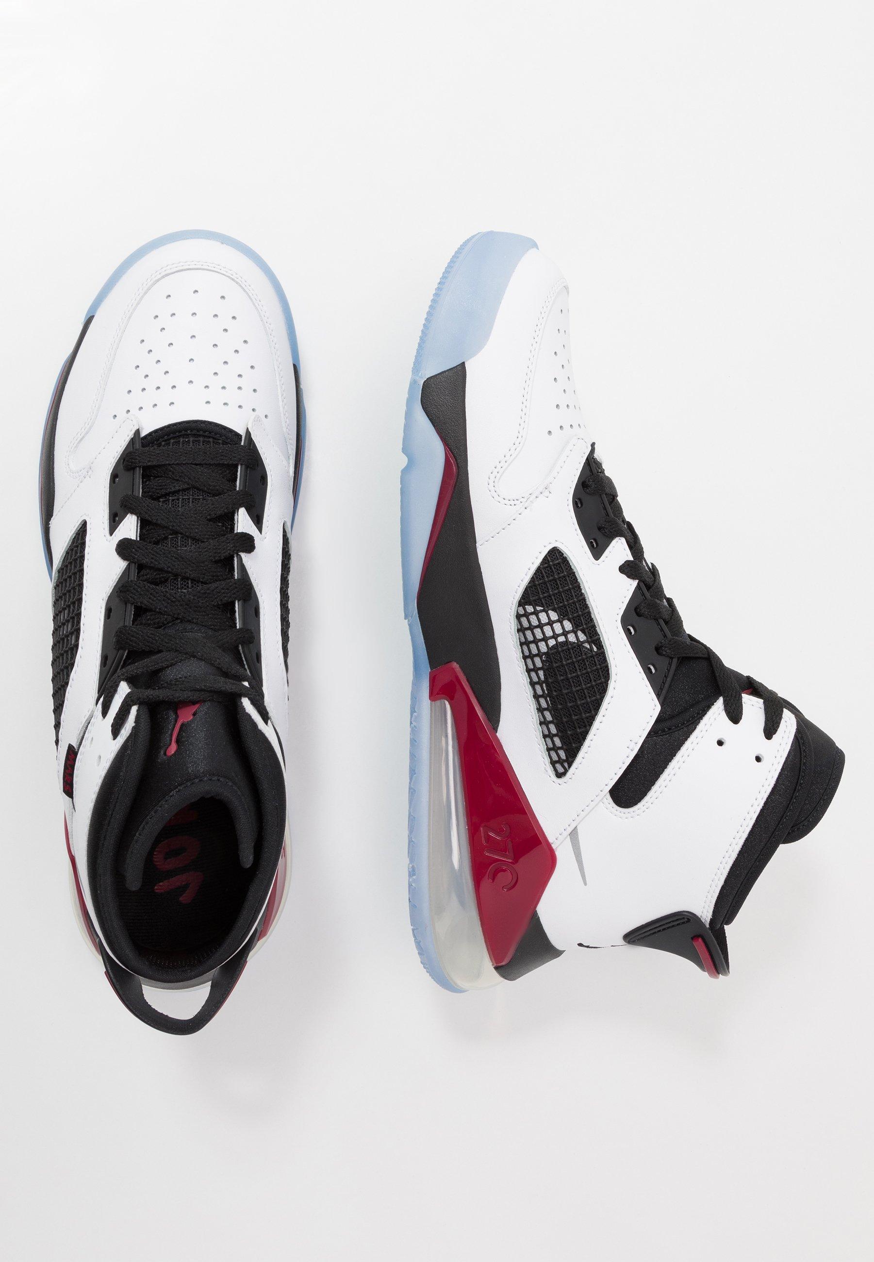 MARS 270 Höga sneakers whitereflect silvernoble redblack