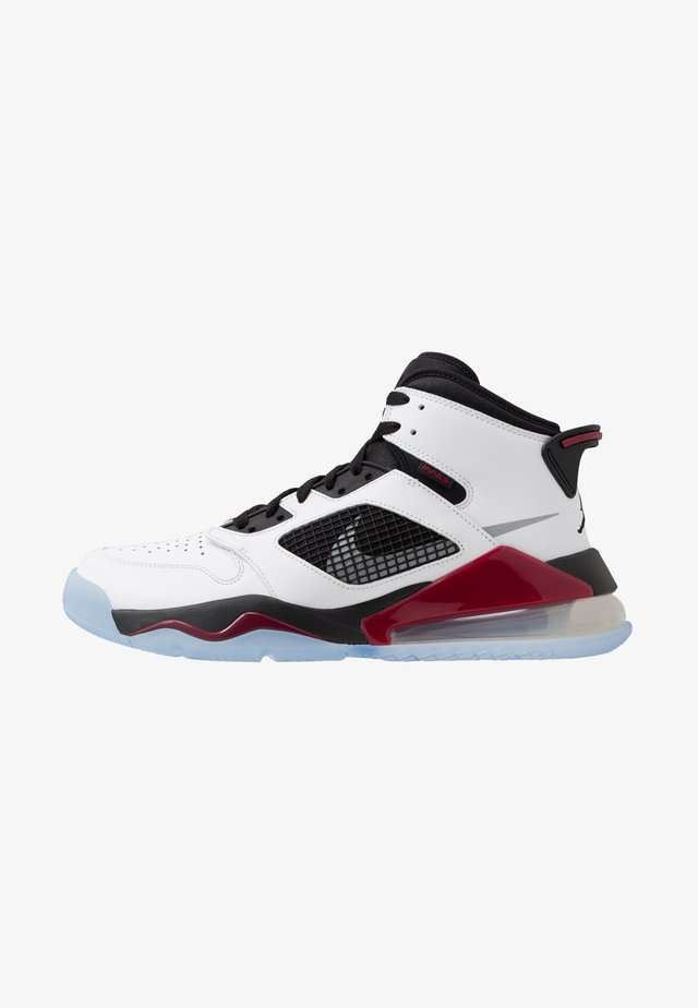 MARS 270 - High-top trainers - white/reflect silver/noble red/black