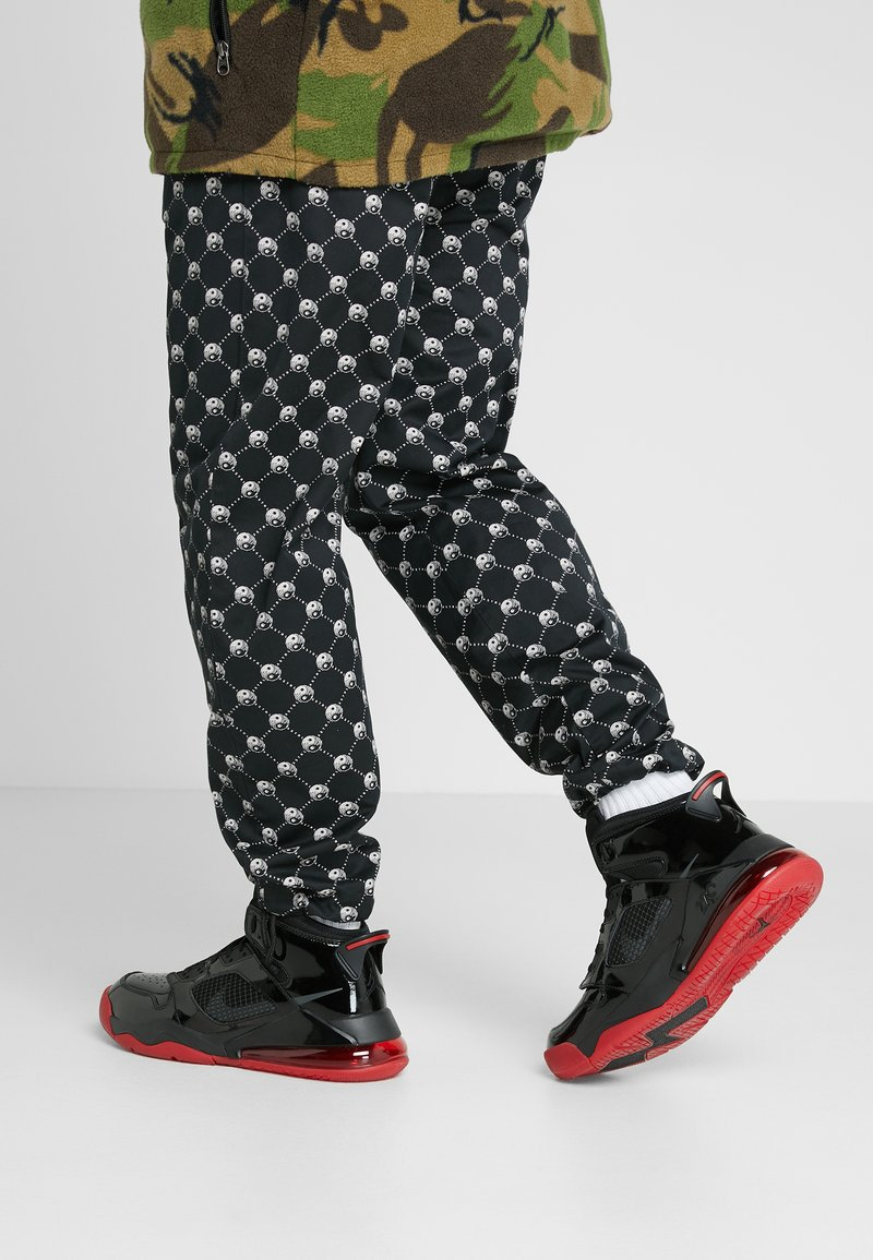 Jordan - MARS 270 - High-top trainers - black/anthracite/gym red
