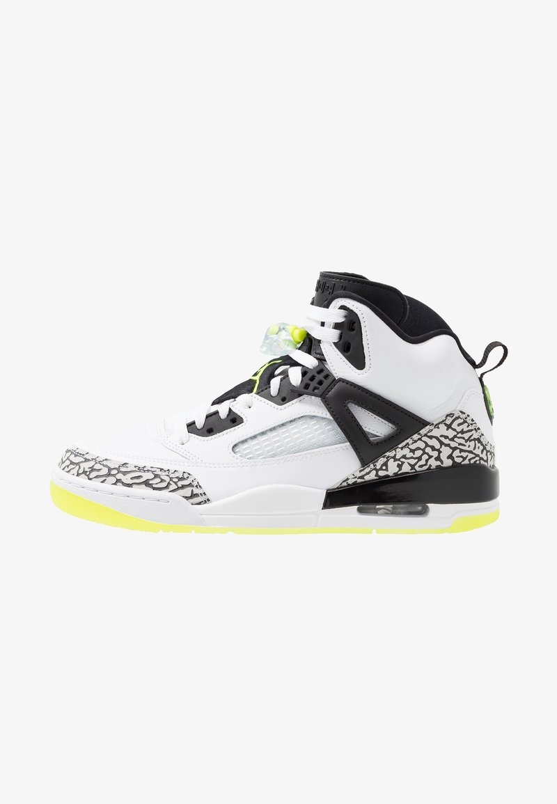 Jordan - SPIZIKE  - Skate shoes - white/volt/black