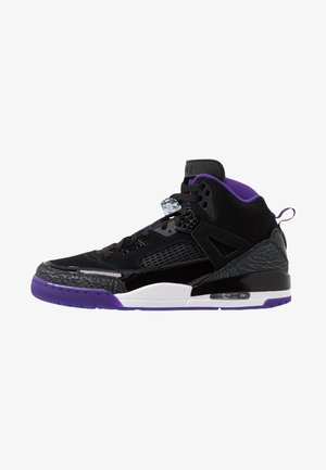 SPIZIKE  - Skateskor - black/court purple/anthracite/white