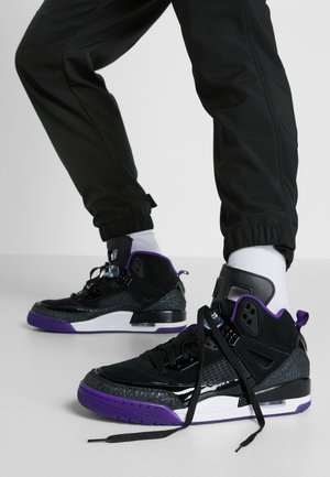SPIZIKE  - Chaussures de skate - black/court purple/anthracite/white