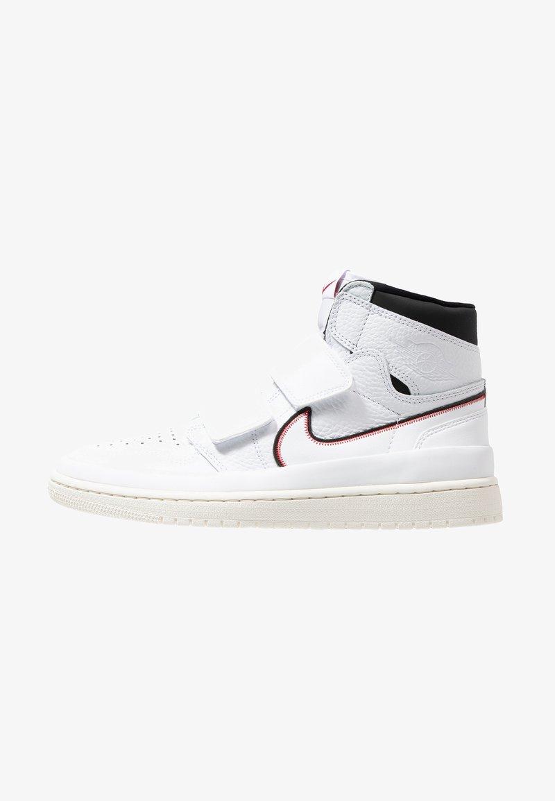 Jordan - AIR 1  - Sneaker high - white/black/sail/gym red