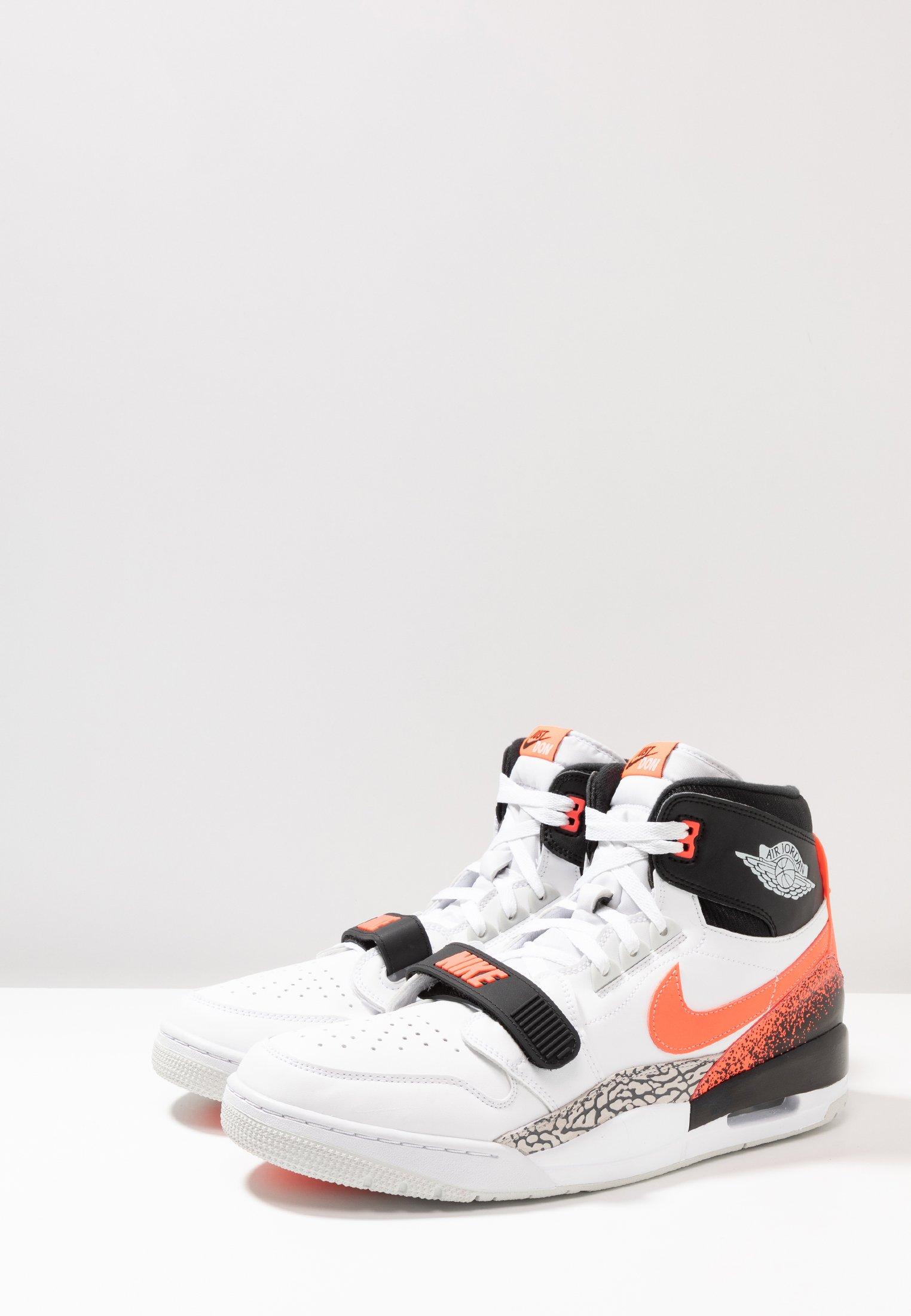 Jordan AIR LEGACY 312 - Baskets montantes white/hot lava/black/zen grey
