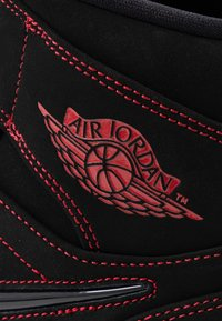 Jordan - AIR JORDAN 1 MID  - Zapatillas altas - black/gym red/white - 6
