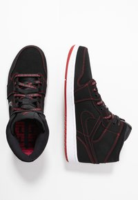 Jordan - AIR JORDAN 1 MID  - Sneakers alte - black/gym red/white - 1