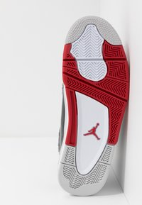 Jordan - AIR DUB  - Korkeavartiset tennarit - white/black/varsity red/neutral grey - 4