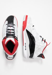Jordan - AIR DUB  - Korkeavartiset tennarit - white/black/varsity red/neutral grey - 1