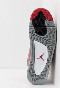 Jordan - AIR DUB  - Korkeavartiset tennarit - gym red/black/particle grey - 4