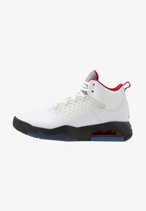 MAXIN 200 - Sneakersy wysokie - white/gym red/black/reflect silver