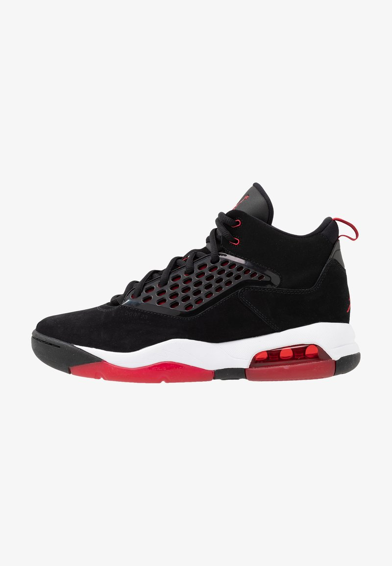 Jordan - MAXIN 200 - High-top trainers - black/gym red/white