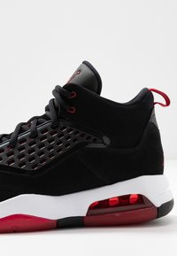 Jordan - MAXIN 200 - High-top trainers - black/gym red/white - 5
