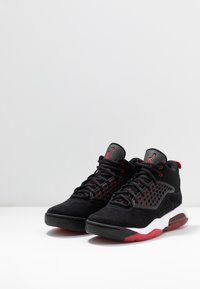 Jordan - MAXIN 200 - High-top trainers - black/gym red/white - 2