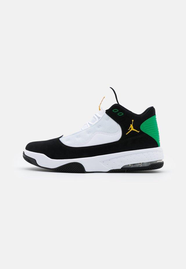 MAX AURA 2 - Sneakers alte - black/dark sulfur/white/lucky green