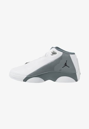 JUMPMAN TEAM FLOW - Korkeavartiset tennarit - white/black/cool grey