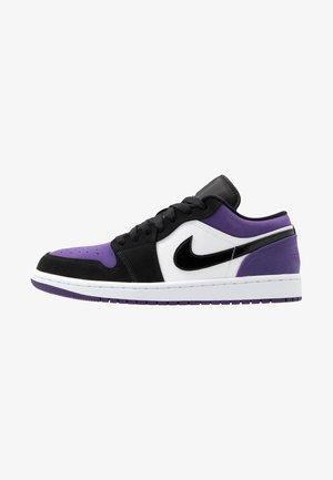 AIR 1 - Sneakers laag - white/black/purple