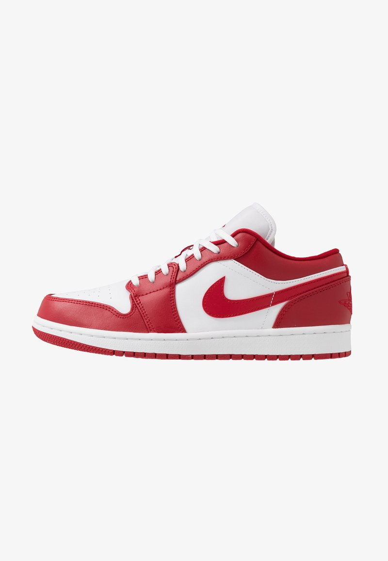 Jordan - AIR 1 - Trainers - gym red/white