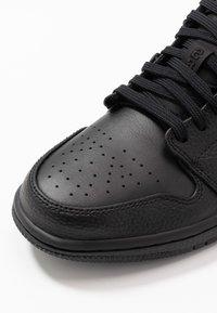Jordan - AIR 1 - Sneakersy niskie - black - 5