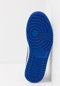 Jordan - AIR 1 - Matalavartiset tennarit - sport royal/black/white - 4