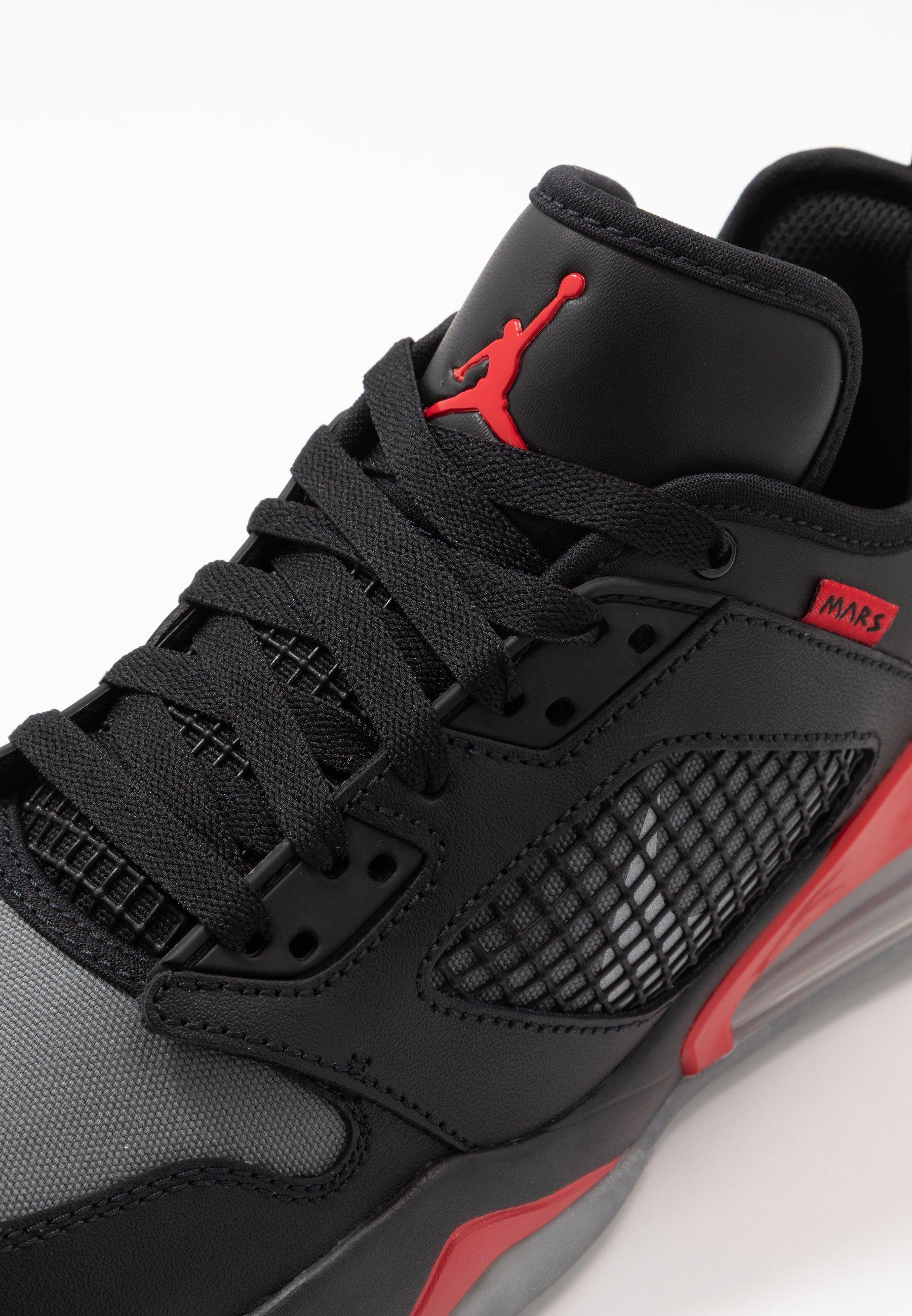 Jordan Mars 270 - Sneakers Laag Black/metallic Silver/university Red/wolf Grey/dark Grey/white Goedkope Schoenen