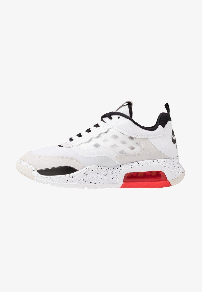 Jordan - MAX 200 - Sneakers basse - white/black/challenge red/vast grey