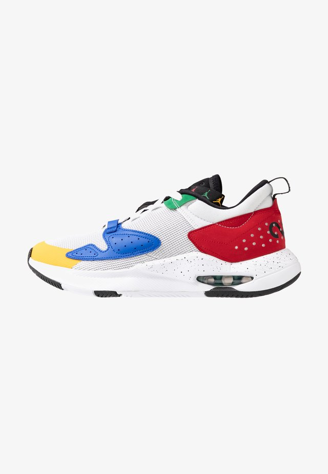 AIR CADENCE - Sneakers laag - white/game royal/black/gym red/pine green